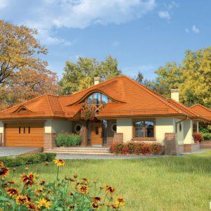 Projekty domów piętrowych111