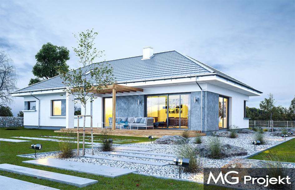 2034ad8b54429 Projekt domu Wymarzony 6 - 1001 Studio - Gotowe Projekty Domów