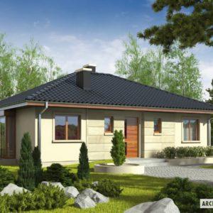 1001-Projekty domów parterowych
